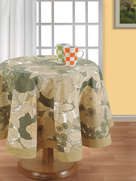 Wild Forest Round Table Cover