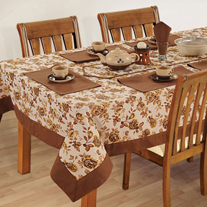 golden flush rectangular table cover home decor