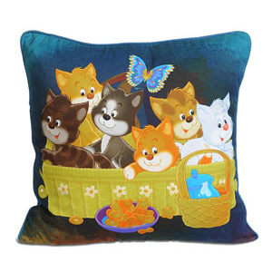101 Kittens Cushion Cover