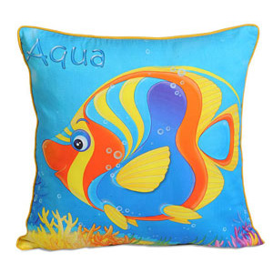 Aqua Marine Cushion Cover
