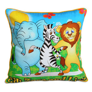 Lino Zora Cushion Cover