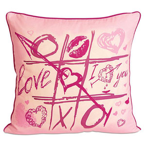 Tic Tac Toe Cushion Cover