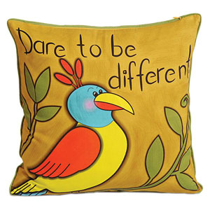 Dare to be Different Cushion Cover