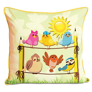 Still not angry birds! Cushion Cover