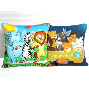 Kittens & Jungle Friends - Set of 2