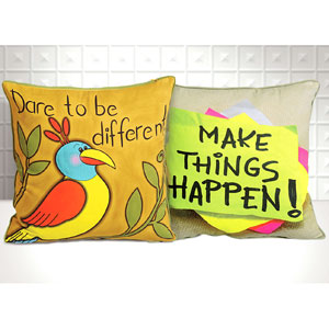 Dare to be Different & Make things happen - Set of 2
