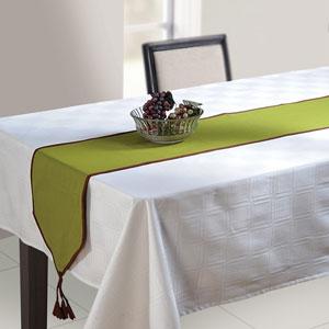 Mehndi Green Table Runner