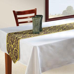 Choco Mustard Table Runner