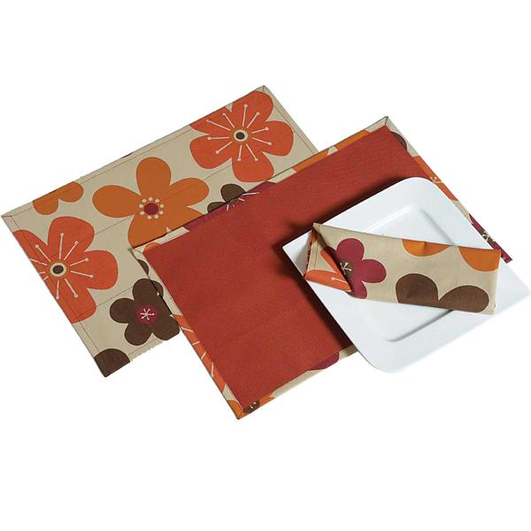 Reversible Floral Table Mat amp Napkins Set India : hap692large3 from www.tajonline.com size 600 x 600 jpeg 86kB