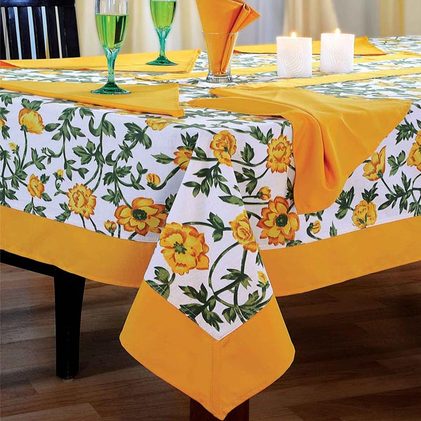 Bright n Sunny Flora Rectangular Table Cover