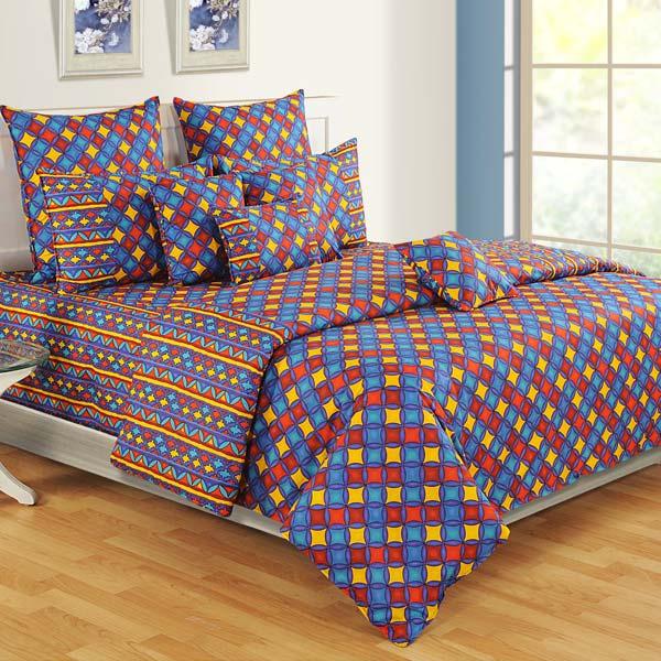 Sparkling Blue Bedsheet Set