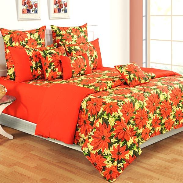 Ponsetia Pleasure Winter Comforter