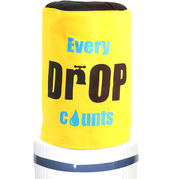 Every Drop Counts Water Bottle Cover