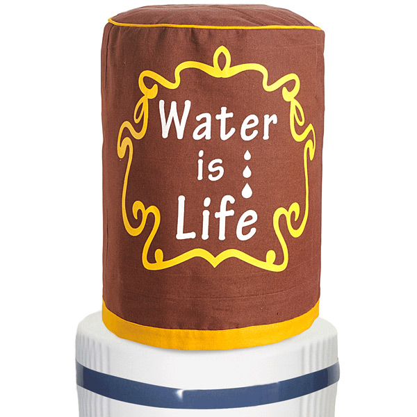 Water is Life Water Bottle Cover