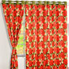 Ponsetia Glory Window Lounge Curtains