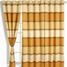 Beaver Brown Window Lounge Curtains