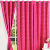 Deepth of Pink Window Curtain