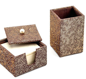Recycled Handmade Paper Pen Holder
