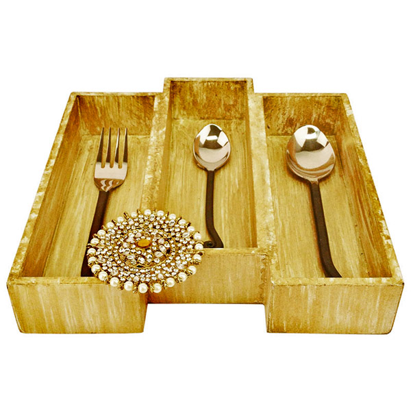 3 Section Cutlery Tray