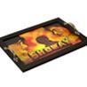 Sholay Canvas Handpainted Bollywood Tadka Tray