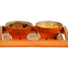 Bowl Set with Tray