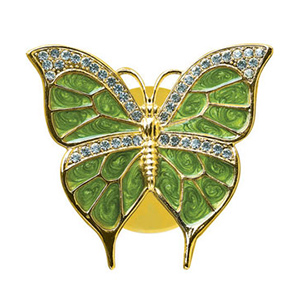 24K Gold Plated Suncatchers Butterfly Studded with Swarovski Crystals