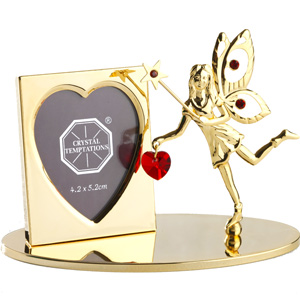 Gift Items-24K Gold Plated Photo Frame with Fairy and Star