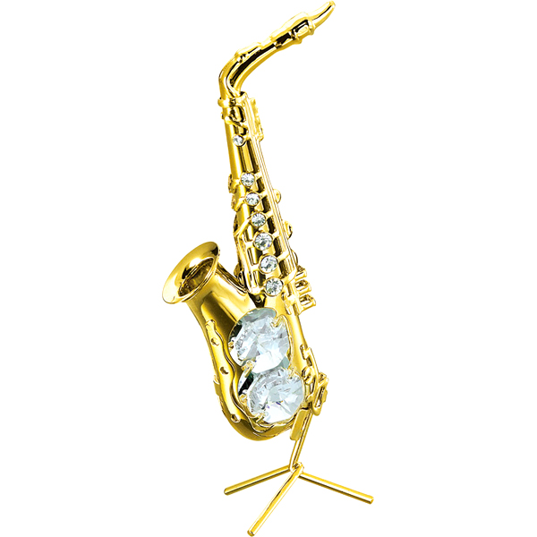 24K Gold Plated Saxophone