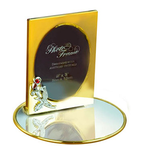 24K Gold Plated Photo Frame