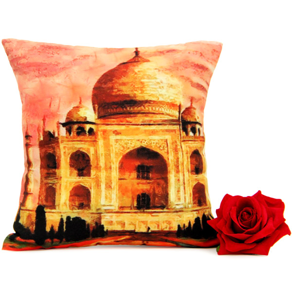 Tajmahal Cushion N Rose