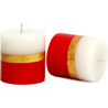 Sparkle Red Candles