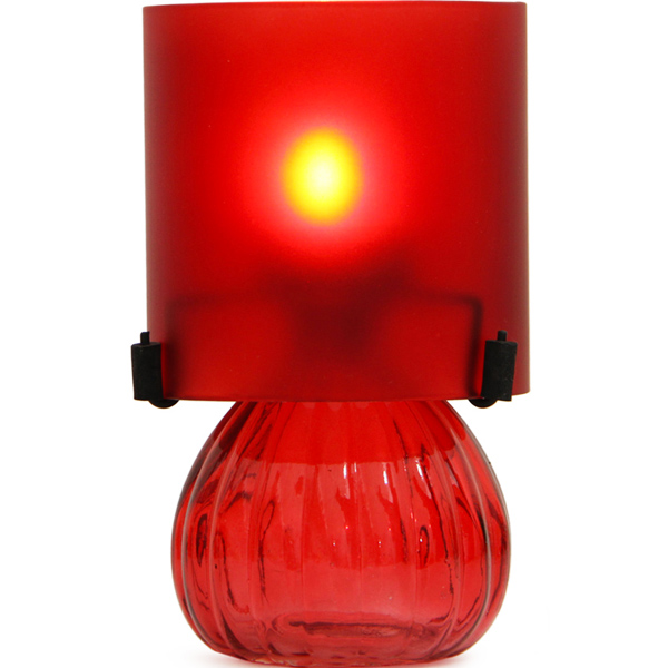 Red T-Light Holder