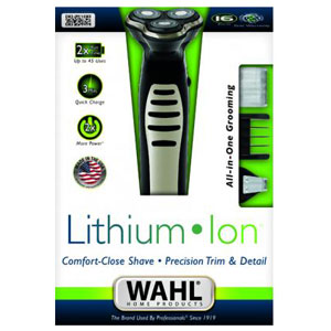 Wahl All in One Shaver and Trimmer for Men - 09880-124 Li-Ion