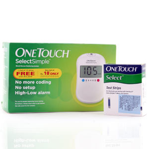Johnson & Johnson Onetouch Select Simple Glucose meter Kit