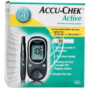 Roche Accuchek Active Blood Glucose Meter