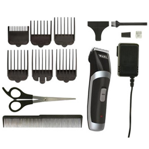 WAHL Rechargeable Clipper Trimmer Haircut Kit - 13 pieces
