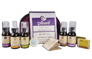 Beauty & Spa Hampers-Omved On-The-Go Women's Kit
