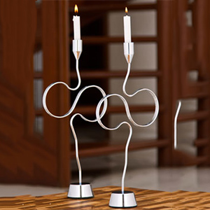 Candles & Candle Stands-Illuminati Candle Holder