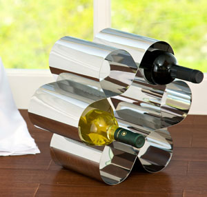 Waved Wine Holder