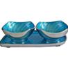 Blue Bowls and Tray Set