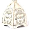 Buddha Lamp in White