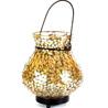 Gift Mosaic Lota Lamp in Amber on Diwali