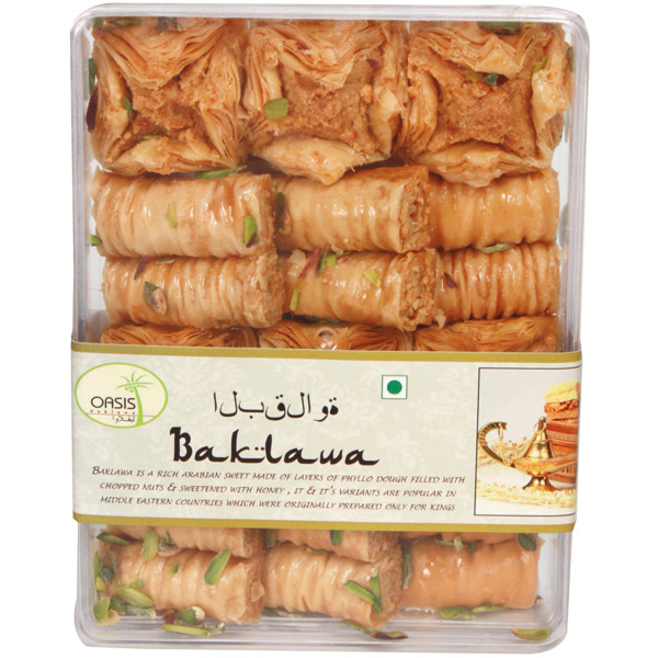 Classic Assorted Baklava Clear Box-Small