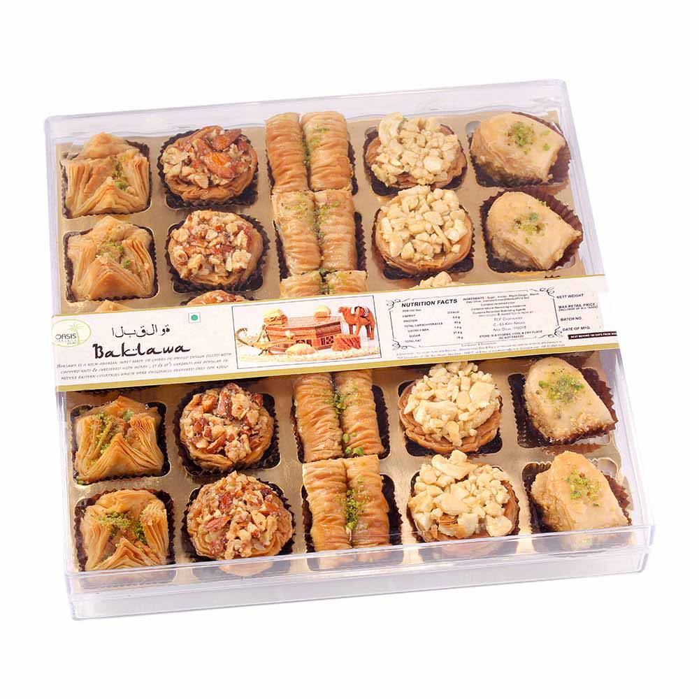 25 pcs Baklava Delight