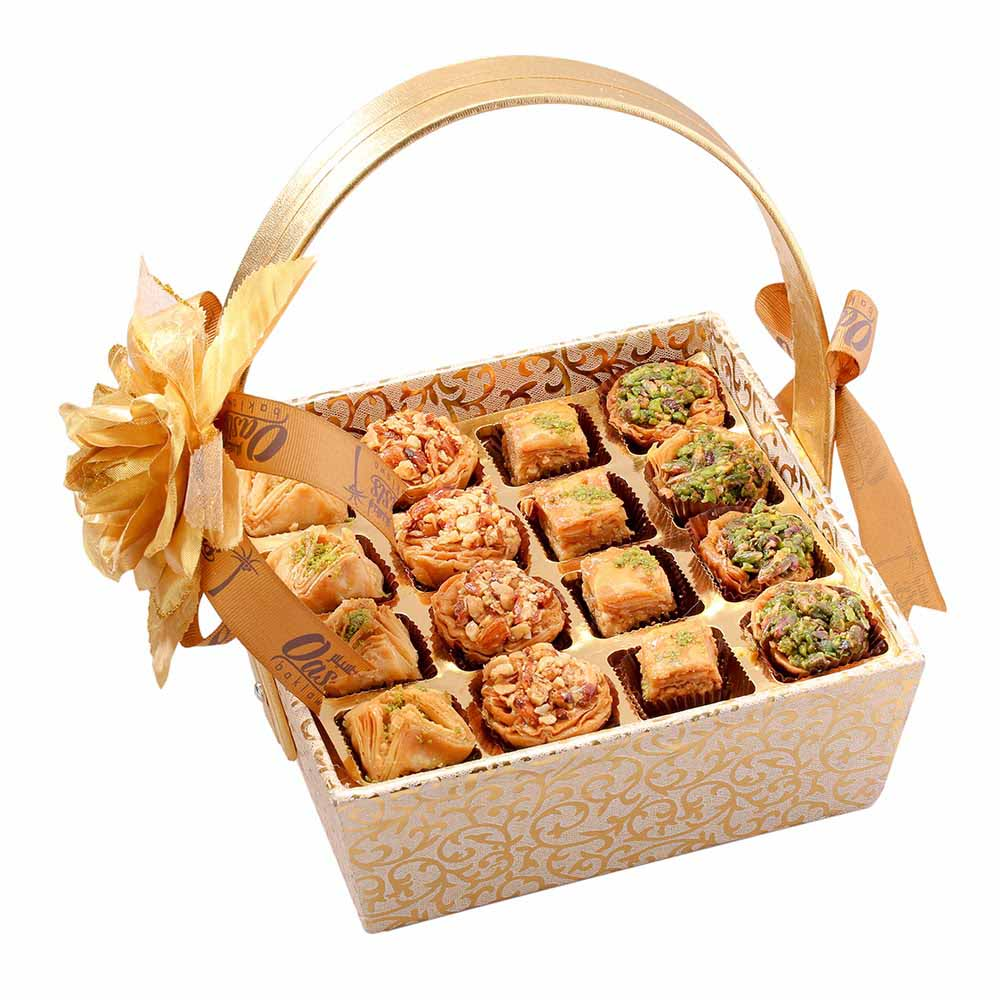 Baklava Basket of Delight