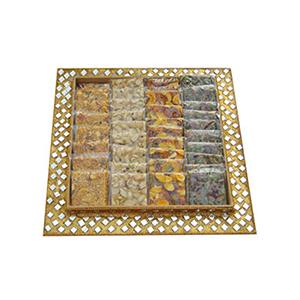 Bikanervala Assorted Chikki Mirror Platter