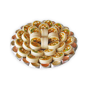 Bikanervala Badaam Diamond Cake