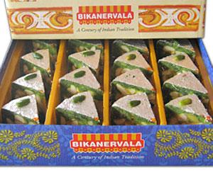Bikanervala Kaju Badaam Pista Diamond Cake