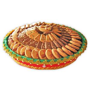 Bikanervala Kaju Badaam Pista Cookies Galore