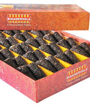 Bikanervala Kaju Chocolate Roll